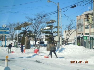 平成22年 1月25日  除雪 005