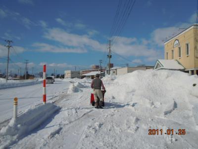 平成22年 1月25日  除雪 009