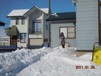 平成22年 1月25日  除雪 006