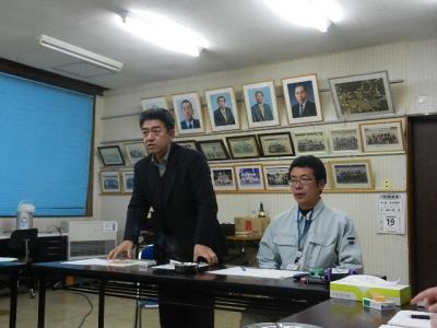 平成23年12月19日  プロジェクト8の会議。 005