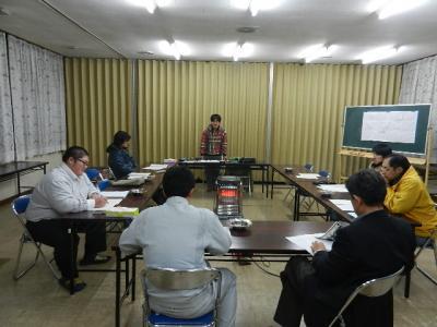 平成23年12月19日  プロジェクト8の会議。 014