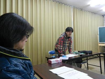平成23年12月19日  プロジェクト8の会議。 016