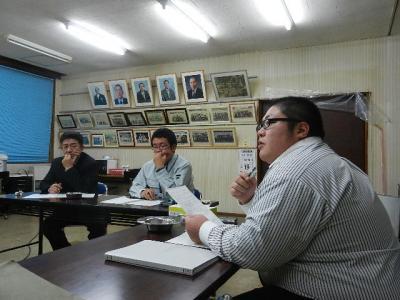 平成23年12月19日  プロジェクト8の会議。 021