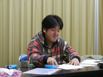 平成23年12月19日  プロジェクト8の会議。 008