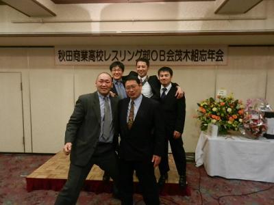 平成23年12月18日  秋商レスリング部茂木組忘年会 085