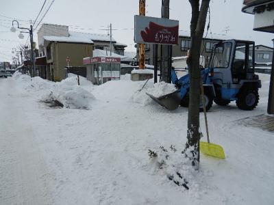 平成24年 1月16日  ダイエット除雪 001