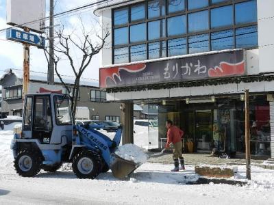 平成24年 1月16日  ダイエット除雪 011