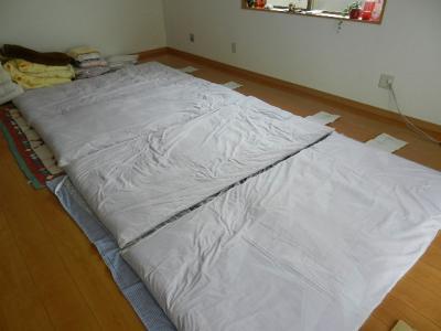 お泊り用の布団 001