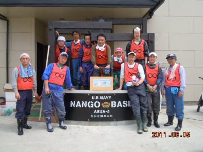 平成23年  6月5日  気仙沼被災地ボランティア 171