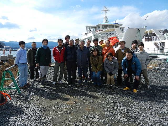 気仙沼大島ボランティア 170