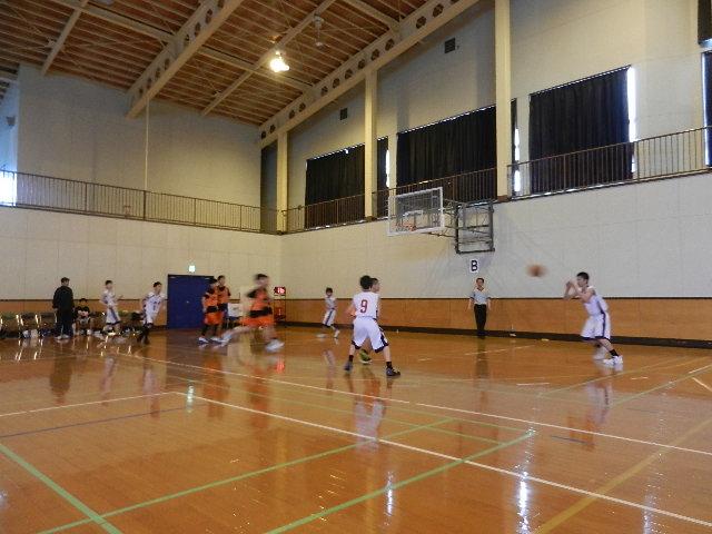 八中バスケ練習試合  秋田東戦 020