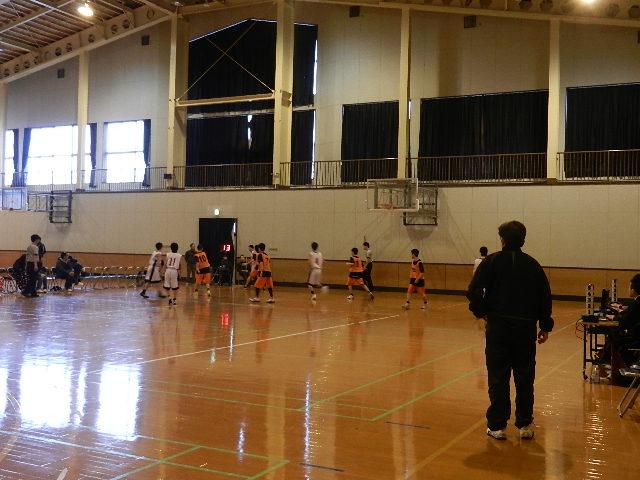 八中バスケ練習試合  秋田東戦 027
