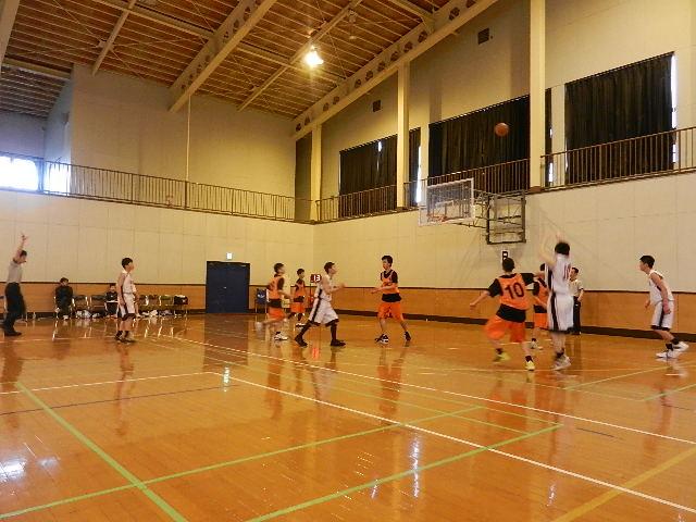 八中バスケ練習試合  秋田東戦 033