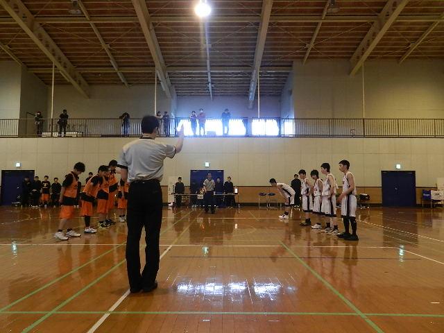 八中バスケ練習試合  秋田東戦 034