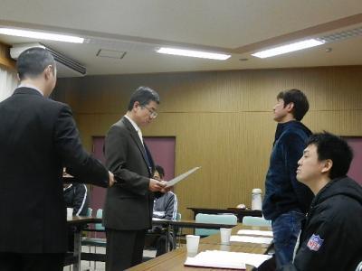 八中親会コーチ会議 004