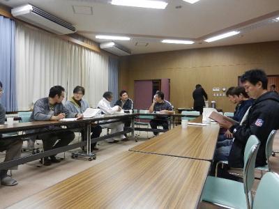 八中親会コーチ会議 002