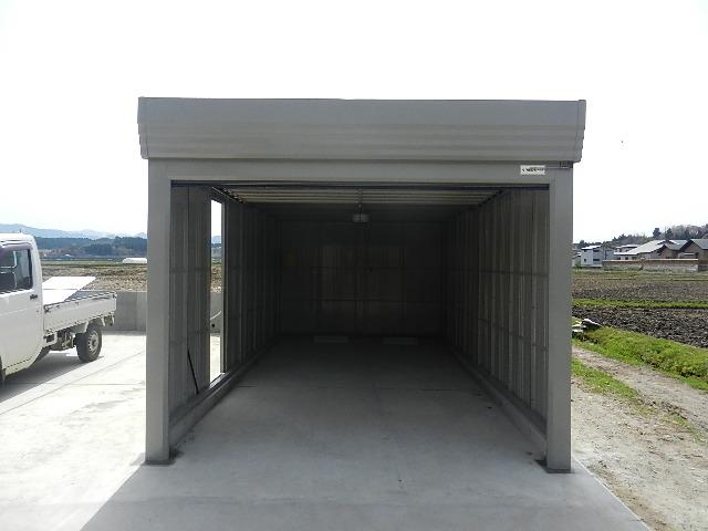 飯田川Y様邸ガレージ車庫 002