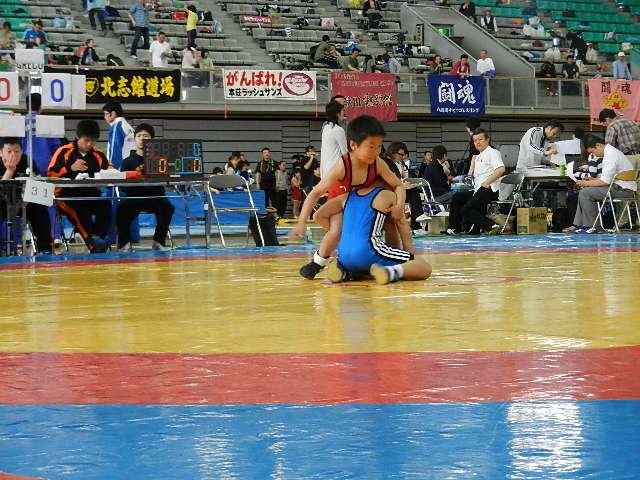 少年レスリング北日本大会 113
