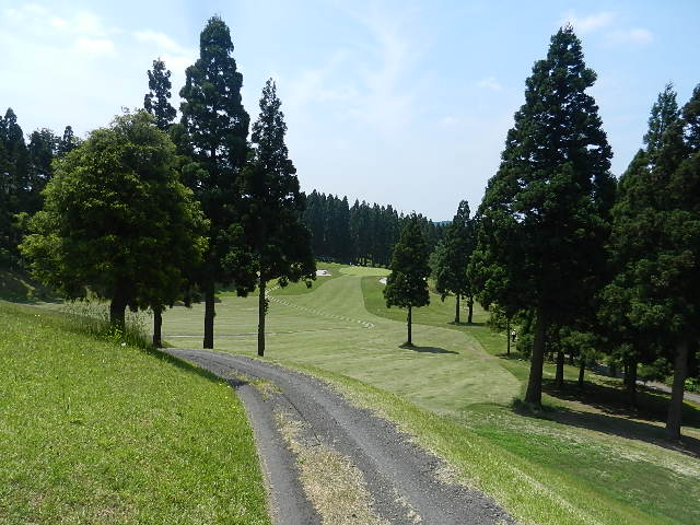 ゴルフ  南秋田カントリー 010