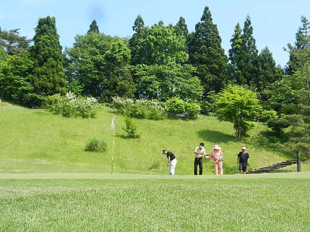 ゴルフ  南秋田カントリー 024