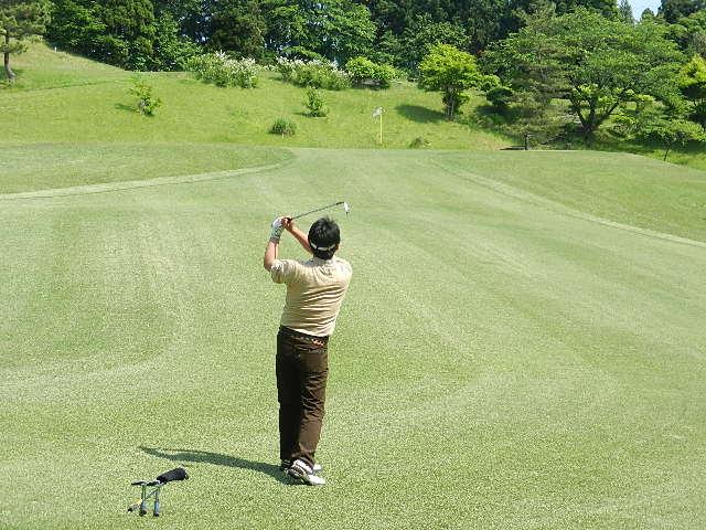 ゴルフ  南秋田カントリー 021