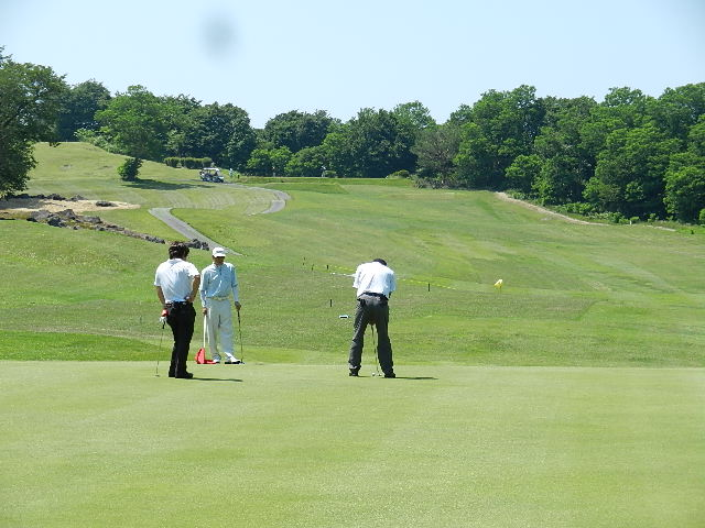あきしんゴルフコンペ。 018