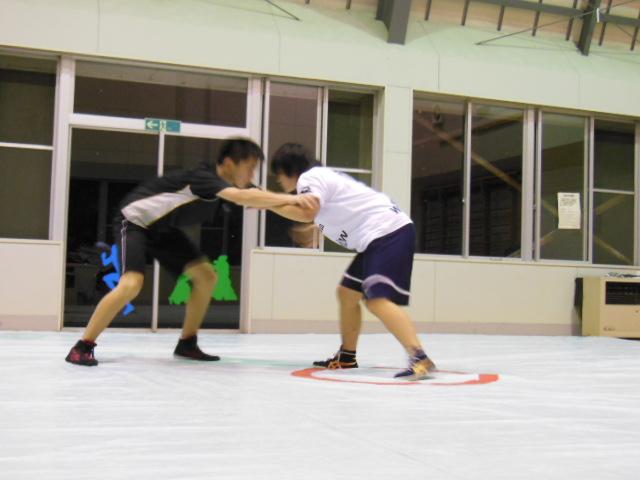 レスリング練習 071