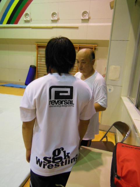 レスリング練習 025