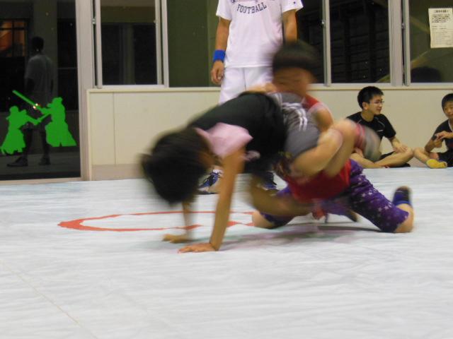 レスリング練習 034