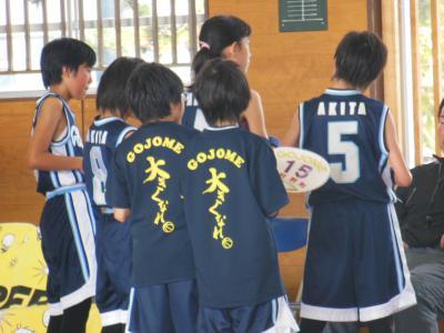 ミニバス女子練習試合 002