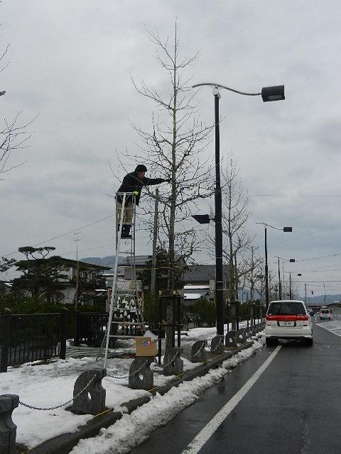 イルミ取付 011