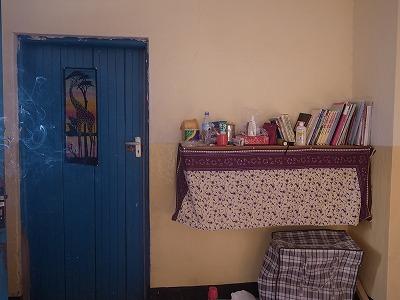 ゲストルームのドア