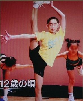 12才のエアロビクス
