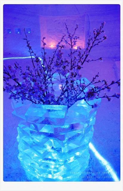 氷の花瓶が素敵(・∀・)