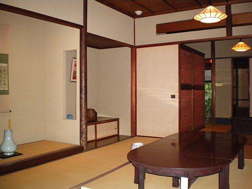 林芙美子邸・寝室