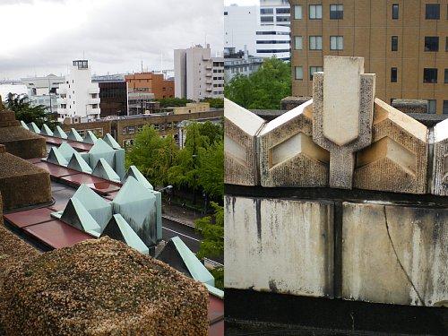 神奈川県庁舎・屋上3