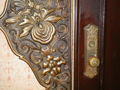神奈川県庁舎・貴賓室ドアノブ