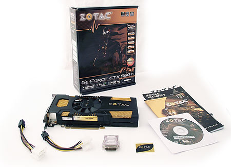 Zotac 560 Ti 448 core BUNDLE