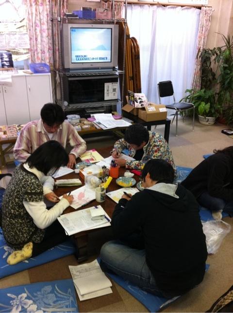 20110115 すき焼き 人形