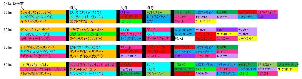 12/13阪神芝