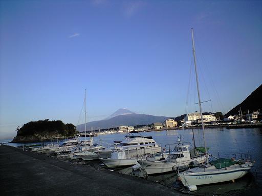 S浦より富士山