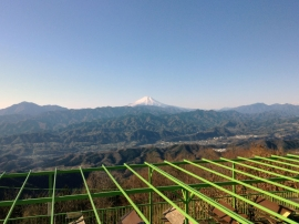 Fuji from Jimba-san 1