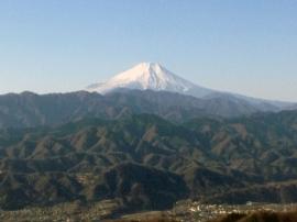 Fuji from Jimba-san 2