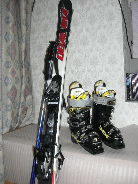 オガサカ スキー板 スノボー