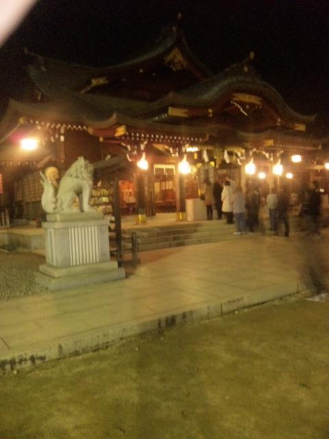 速谷神社 初詣