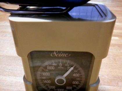 アリオネ重量測定