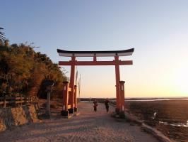 0102-6 青島へ/鳥居