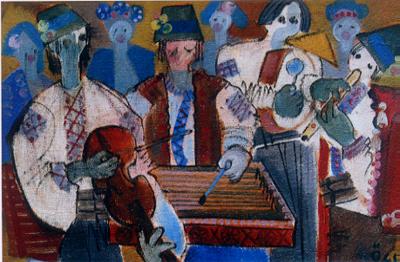 94 カルパチアの音楽家たち