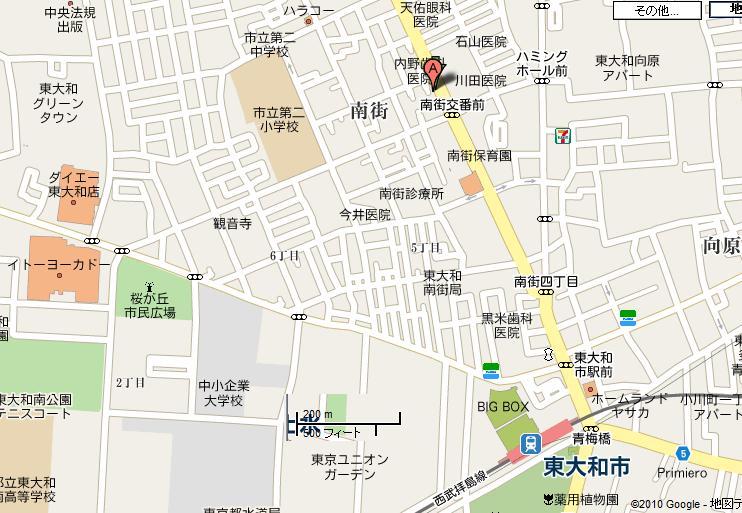 光進堂map