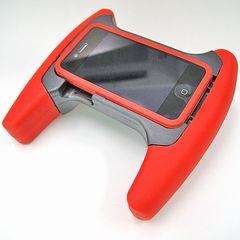 iPhone3GS iPhone4 iPod touch用 ゲームパッド ゲームグリップパッド
